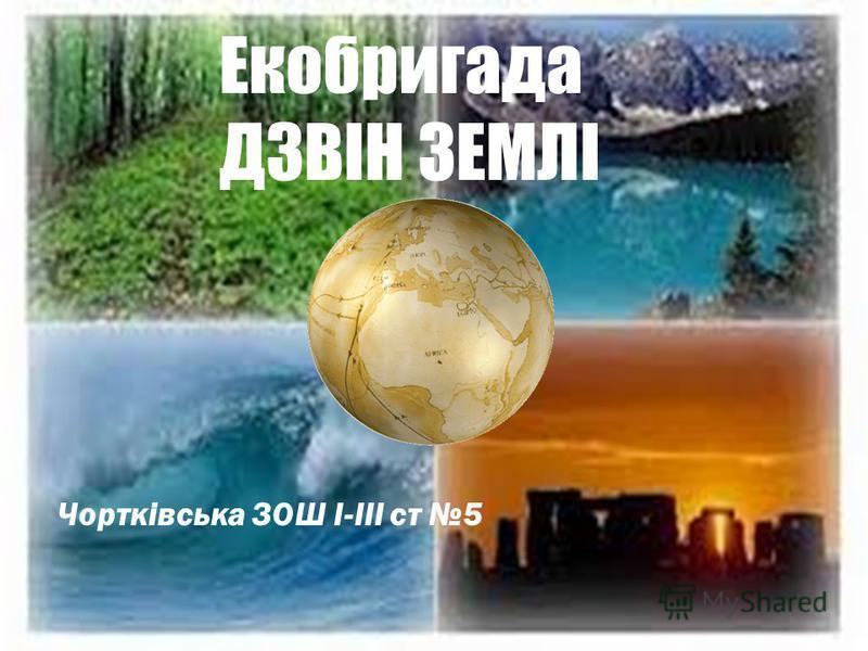 Екобригада ДЗВІН ЗЕМЛІ Чортківська ЗОШ І-ІІІ ст 5