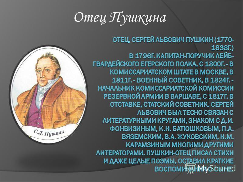 Отец Пушкина