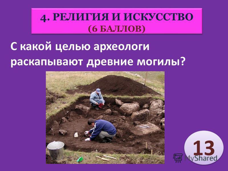 17 Красочные рисунки в пещерах, каменные фигурки людей – это… (Наскальная живопись) 4. РЕЛИГИЯ И ИСКУССТВО (6 БАЛЛОВ)