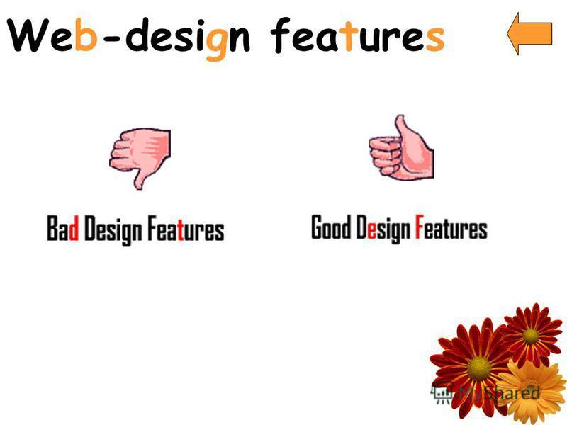 Web-design features