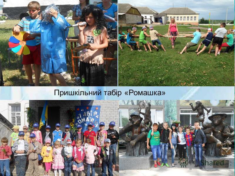 Пришкільний табір «Ромашка»