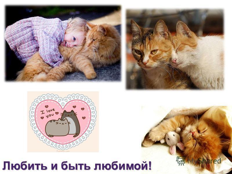 Любить и быть любимой!