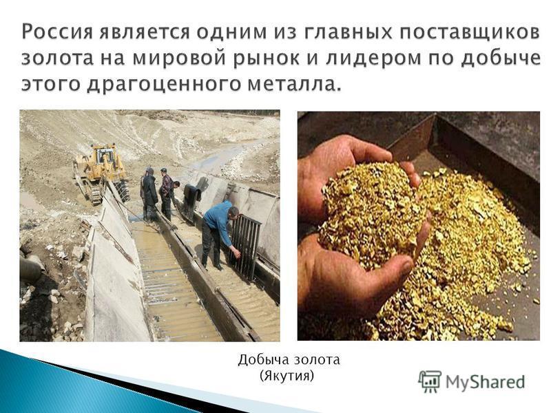 Добыча золота (Якутия)