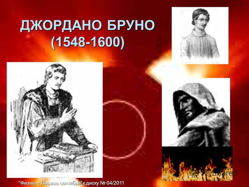 ДЖОРДАНО БРУНО (1548-1600)