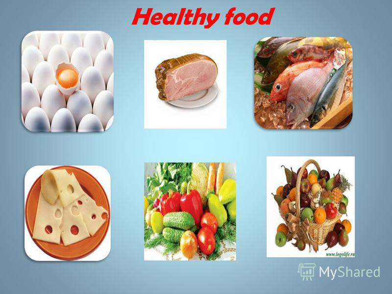 Food can be healthy and unhealthy