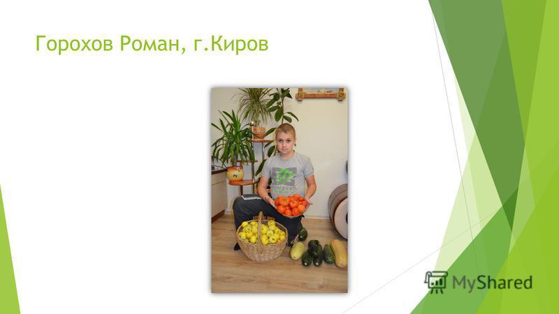 Горохов Роман, г.Киров
