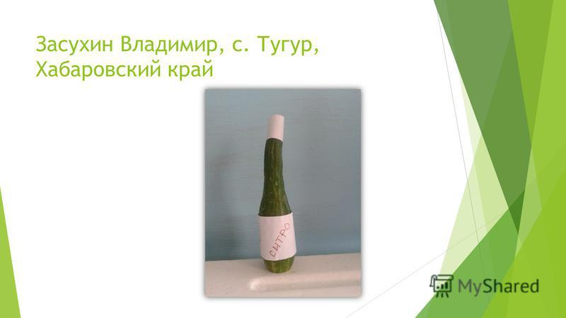 Засухин Владимир, с. Тугур, Хабаровский край