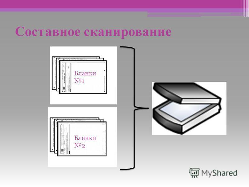 Составное сканирование Бланки 1 Бланки 2