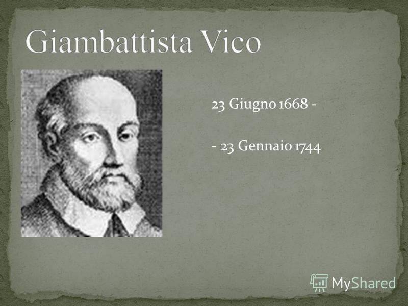 23 Giugno 1668 - - 23 Gennaio 1744