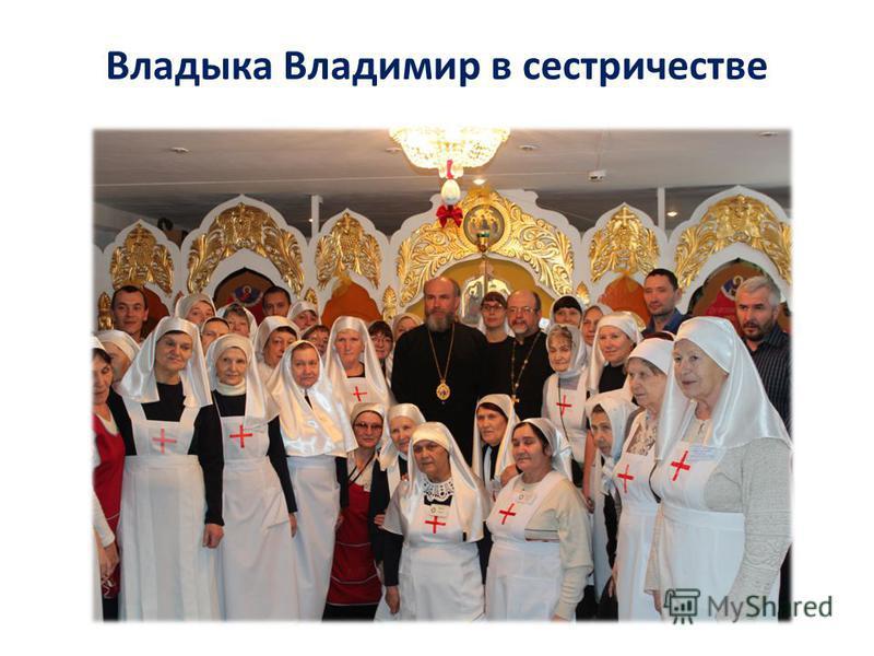 Владыка Владимир в сестричестве