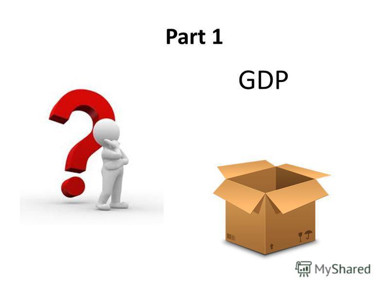 Part 1 GDP