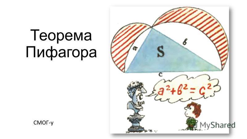 Теорема Пифагора СМОГ-у