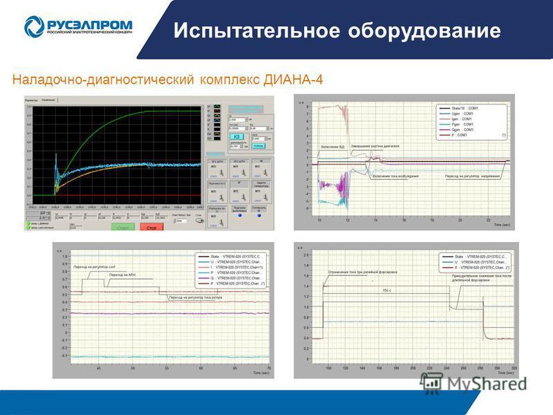 Испытательное оборудование Наладочно-диагностический комплекс ДИАНА-4