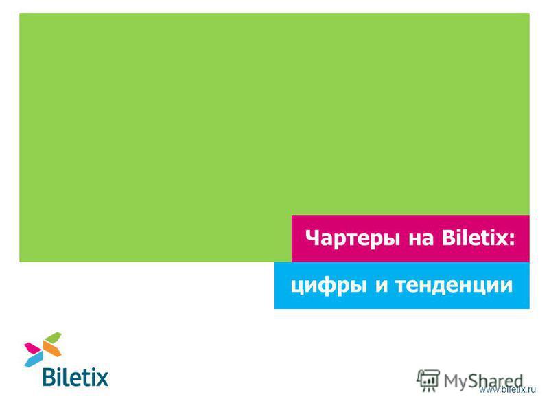 www.biletix.ru Чартеры на Biletix: цифры и тенденции