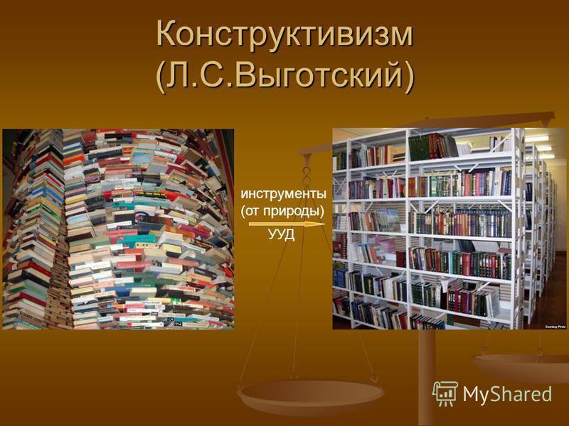 Конструктивизм (Л.С.Выготский) инструменты (от природы) УУД