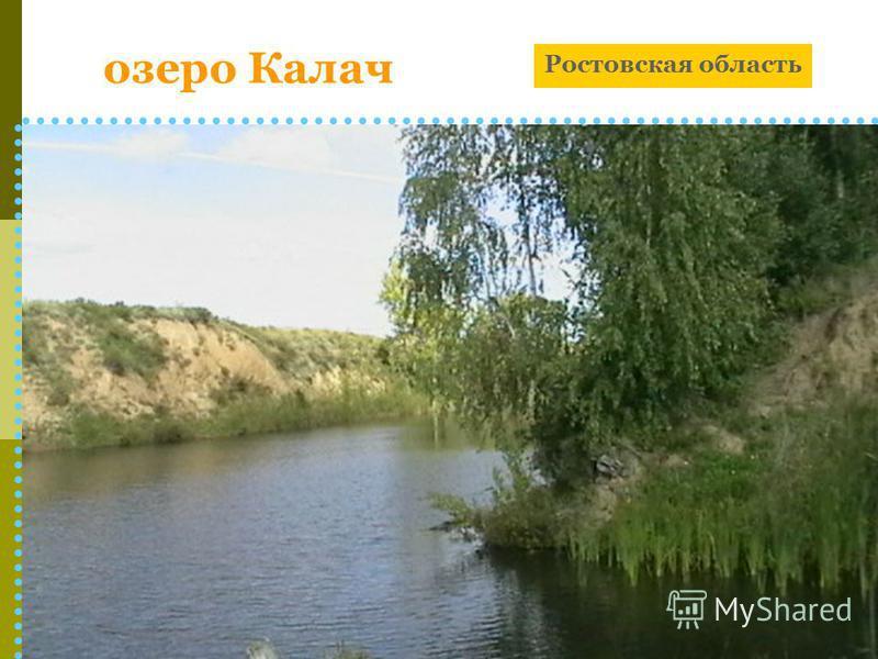 озеро Калач Ростовская область