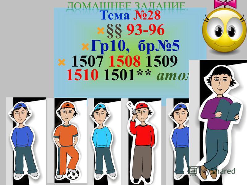 постулаты БОРА 1903 основной 1. В стационарных (Е n ) не изл. 2.Изл. при переходе 1 2 3 4 -13,6 -3,4 -1,51 -0,85 E n = Е1Е1 n2 n2 Е к - Е n = h h = Е1Е1 k2 k2 - Е1Е1 n2 n2 m=3 Пашена, ИК) m=2 (Бальмера, видимый ) m=1 (серия Лаймана, УФ