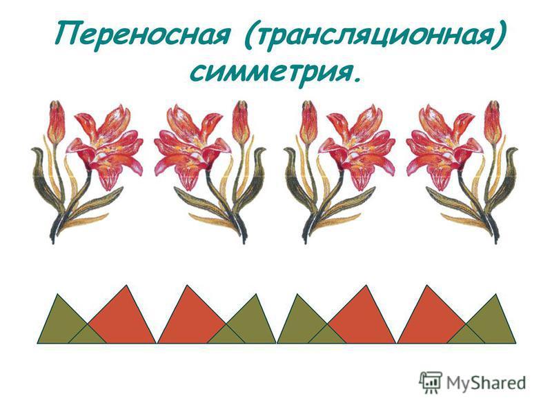 Переносная (трансляционная) симметрия.