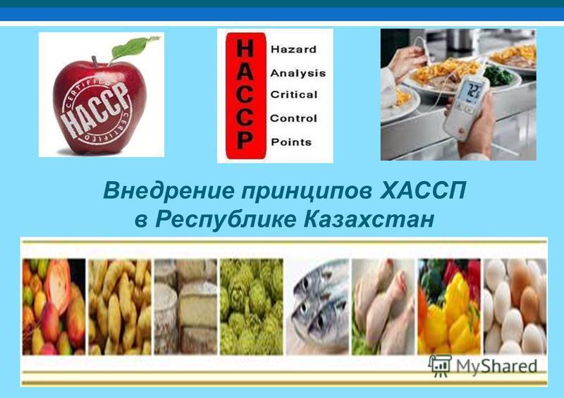 Внедрение принципов ХАССП в Республике Казахстан