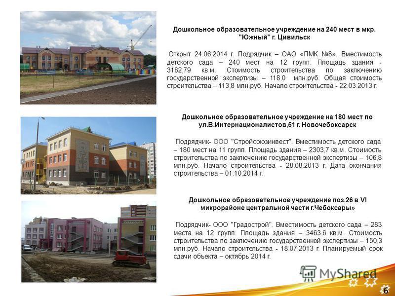 Дошкольное образовательное учреждение на 240 мест в мкр.