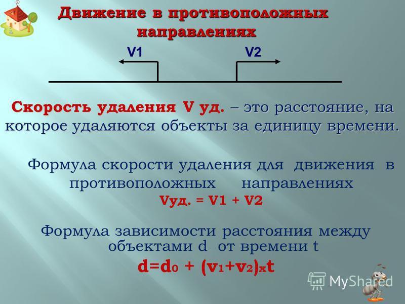 ЭТО СЛЕДУЕТ ЗАПОМНИТЬ ЕСЛИ ЗНАЕШЬ, ОТВЕЧАЙ ЕСЛИ ЗНАЕШЬ, ОТВЕЧАЙ УРА! ЗАДАЧА! ЭТО СЛЕДУЕТ ЗАПОМНИТЬ 1 2 1 2 1 2 3 Задачи на движение в противоположных направлениях.