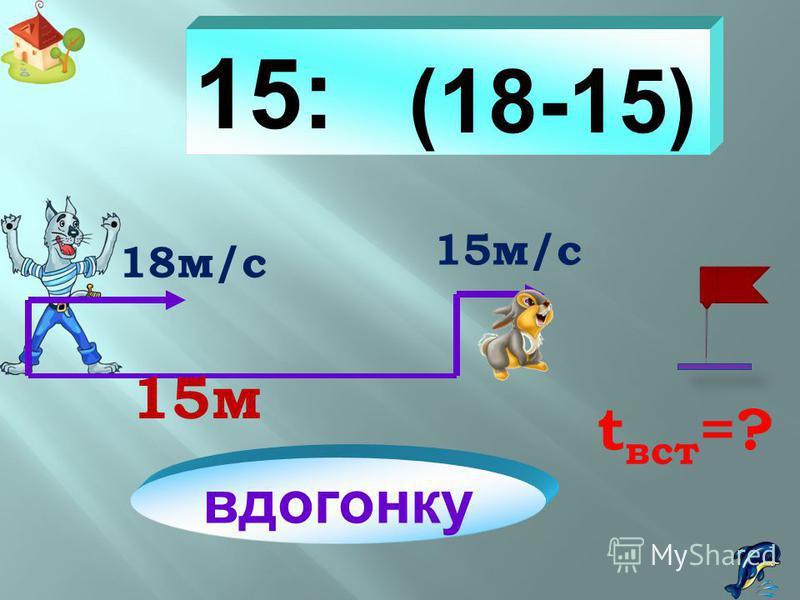(a – b) x c a– b : c c : (a – b) a км/ч t встр. = c (ч) ? км/ч b км a км/ч t встр. = ? (ч) b км/ч с км a км/ч t встр. = c (ч) b км / ч ? км Установите соответствие