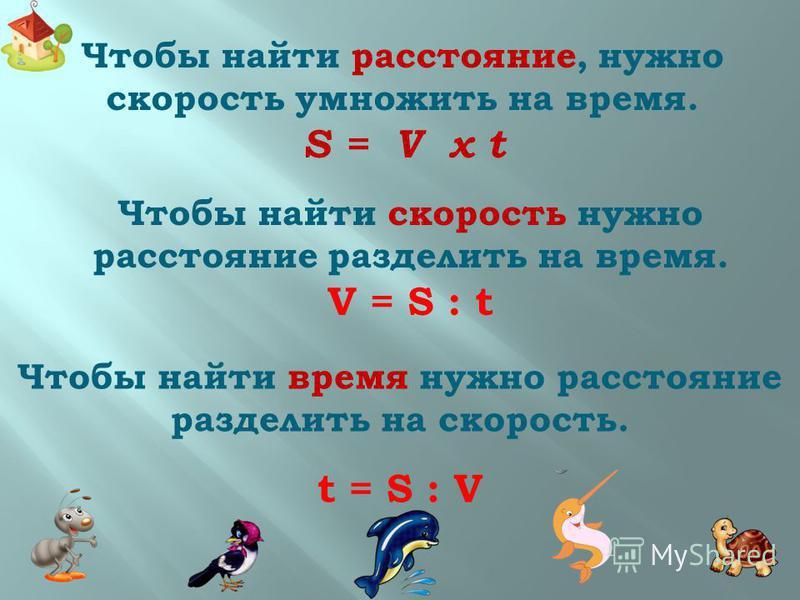 Движение Движение – перемещение кого-(чего-)нибудь в определённом направлении. Расстояние - это пространство разделяющее два пункта; промежуток между чем-нибудь. Обозначение - S Единицы измерения: мм, см, м, км, шагах Время – продолжительность, длите
