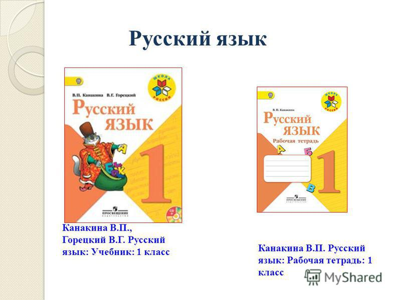 гдз русский язык 1 класс в.п. канакина в.г. горецкий 2018г