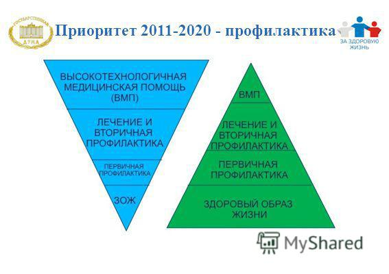 Приоритет 2011-2020 - профилактика