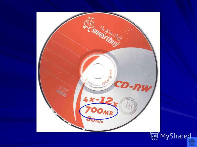 Лазерные диски (400) 700 МВ Сколько информации можно записать на лазерный CD диск? ОТВЕТ