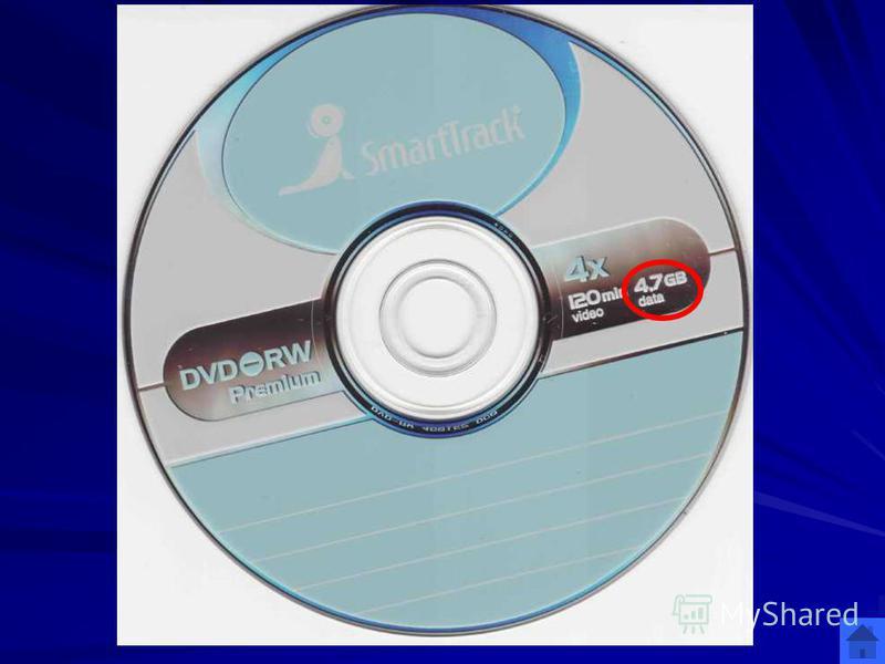 Лазерные диски 300 4,7 ГВ Какое количество информации стандартно может быть записано на DVD диск? ОТВЕТ