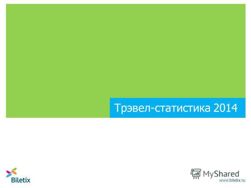 Трэвел-статистика 2014 www.biletix.ru