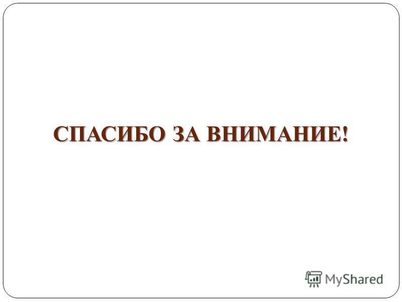 СПАСИБО ЗА ВНИМАНИЕ! 96