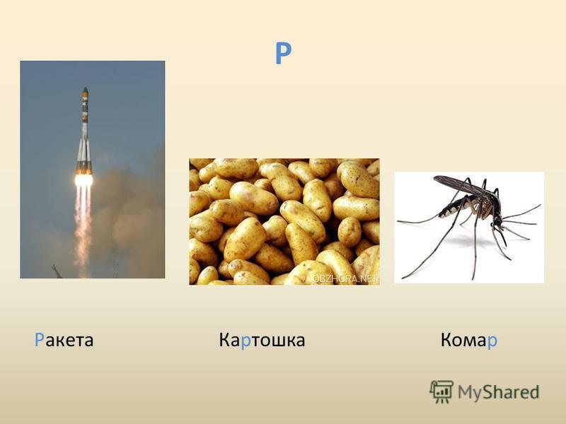 Р Ракета Картошка Комар