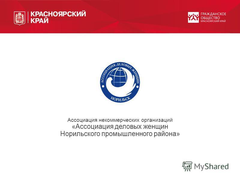 Ассоциация некоммерческих организаций «Ассоциация деловых женщин Норильского промышленного района»