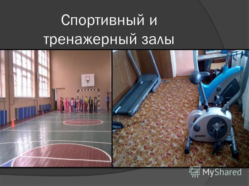 Спортивный и тренажерный залы