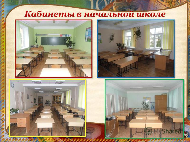 Кабинеты в начальной школе