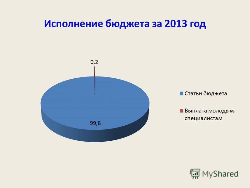 Исполнение бюджета за 2013 год