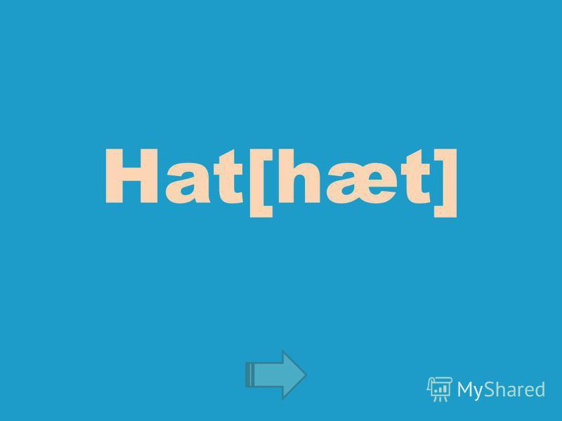 Hat[hæt]