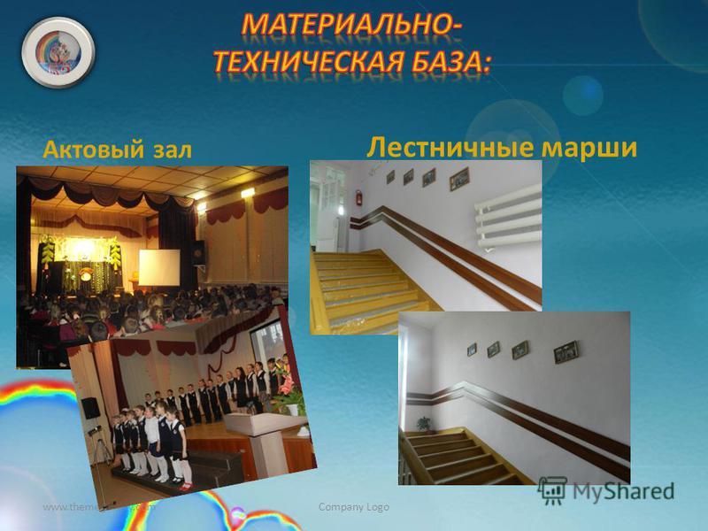 Актовый зал Лестничные марши www.themegallery.comCompany Logo