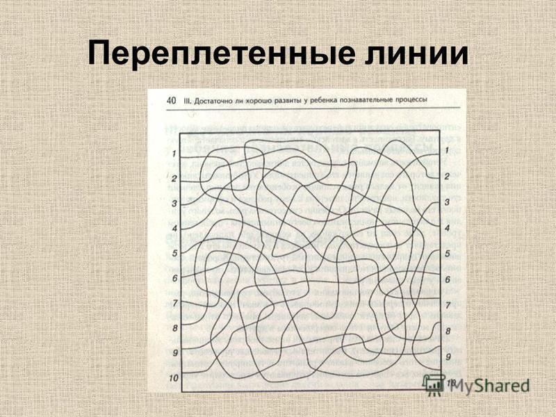Переплетенные линии