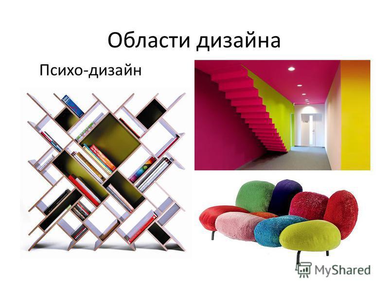 Области дизайна Психо-дизайн