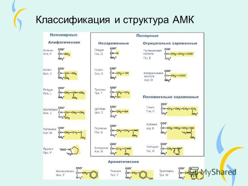 Классификация и структура АМК