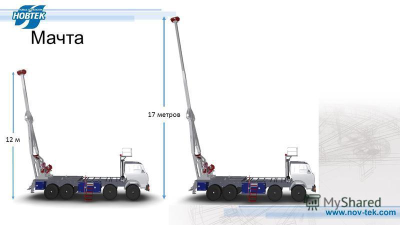 Мачта 17 метров 12 м