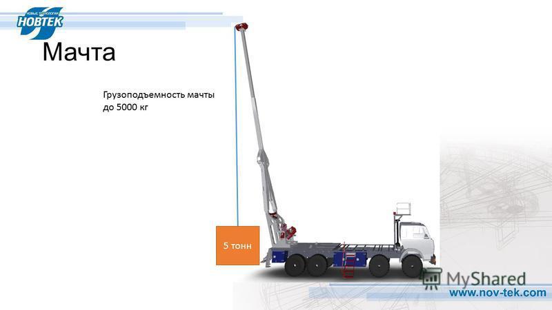 Мачта Грузоподъемность мачты до 5000 кг 5 тонн