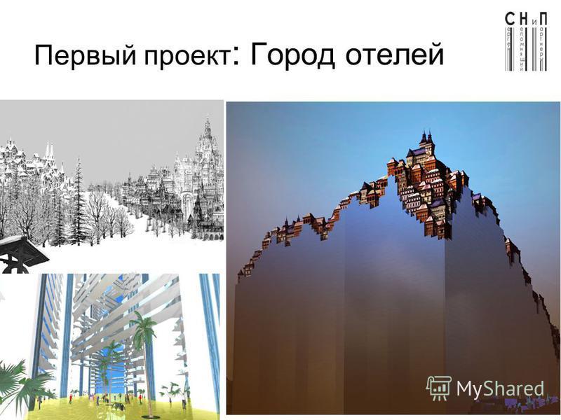 Первый проект : Город отелей