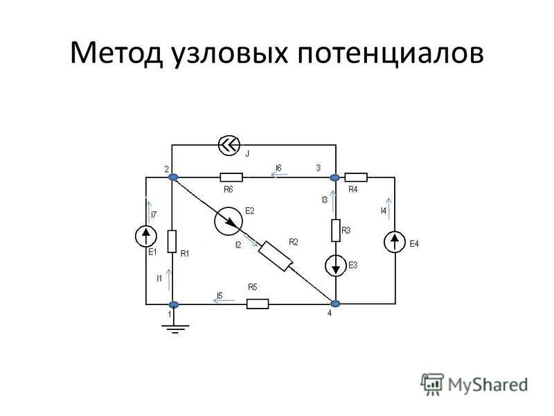 Метод узловых потенциалов