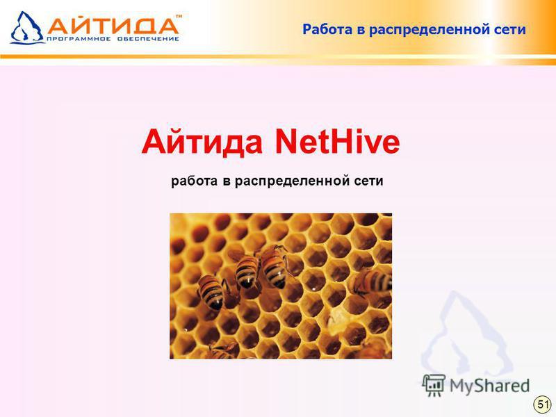 Работа в распределенной сети Айтида NetHive работа в распределенной сети 51