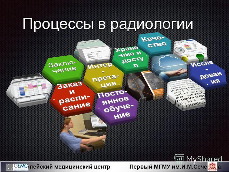 Европейский медицинский центр Первый МГМУ им.И.М.Сеченова Процессы в радиологии