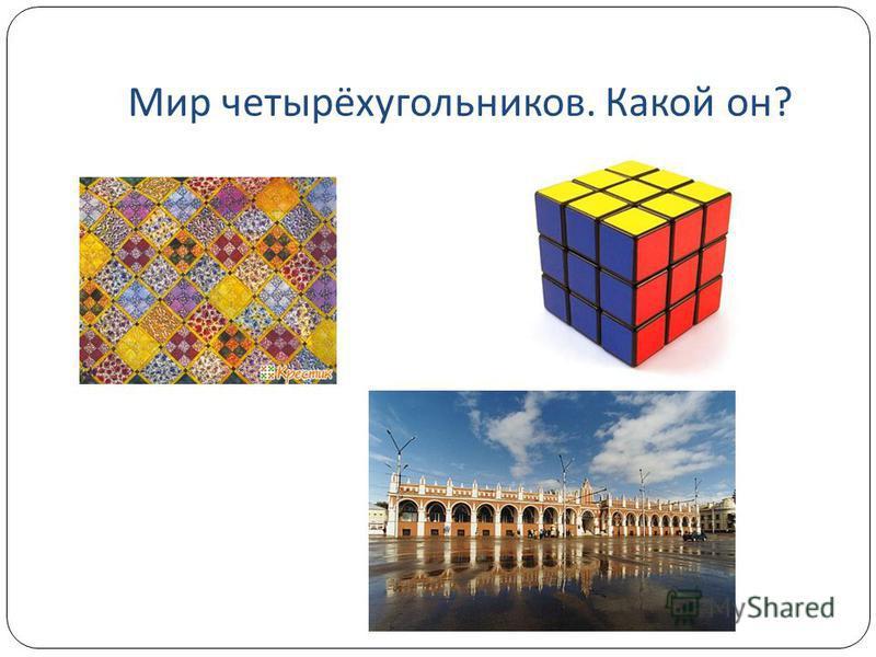 Мир четырёхугольников. Какой он ?